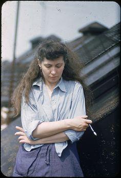 [9 Portraits of Jane Smith Evans] Walker Evans
