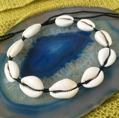 This waterproof cowrie shell choker is perfect for everyday wear and will add an instant sea gypsy aesthetic to any outfit! + Adjustable tie-up back + Waterproof + Perfect for layering + Cowrie shells + Waxed polyester Surf Necklace, Summer Necklace, Summer Jewelry, Beach Jewelry, Smoky Quartz Necklace, Shell Choker, Macrame, Shells, My Etsy Shop