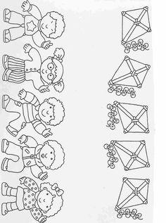 Actividades para niños preescolar, primaria e inicial. Fichas para imprimir en las que tienes que completar los dibujos y colorearlos para niños de preescolar y primaria. Completar y Colorear. 32