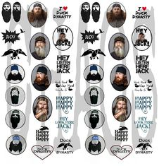 Duck Dynasty Waterslide Nail Decals by ChaosNailDecals on Etsy, $5.00  Idc what you say I love this Show!