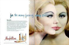 1960 Vintage Advert - Maybelline Double Spread by CharmaineZoe, via Flickr