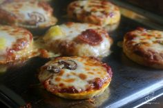 Grain-Free Mini Pizzas