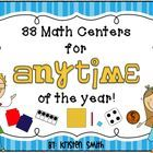 This packet includes 33 math centers that are aligned to the common core. In a theme that you can use at anytime of the year, this packet will be a...