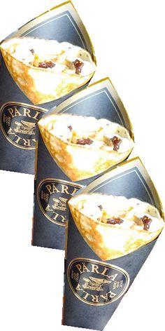 ブルーチーズと無花果の赤ワイン煮のクレープ  PARLA