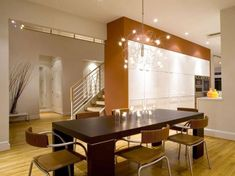 pendant lights in dining room - Google Search