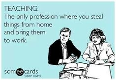 Teaching... So true.