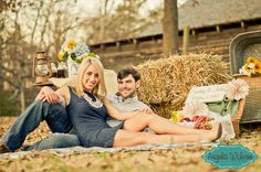Engagement session by Angela Wilson Photography: December 2012 at McDaniel Farm Park in Duluth, GA