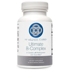 Ultimate BComplex Activated BVitamins with Benfotiamine and Quatrefolic Stress Neurological and Adrenal Support Increased Bioavailability 90 capsules >>> See this great product.