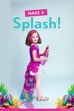 Learn how to make a simple, no-sew mermaid tail costume for Halloween! This one was based on the Barbie mermaid doll! Learn how to make a simple, no-sew mermaid tail costume for Halloween! This one was based on the Barbie mermaid doll! Mermaid Costume Kids, Mermaid Tail Costume, Mermaid Kids, Mermaid Tails For Kids, Mermaid Crafts, Halloween Mermaid, Little Mermaid Costumes, Easy Diy Costumes, Diy Halloween Costumes