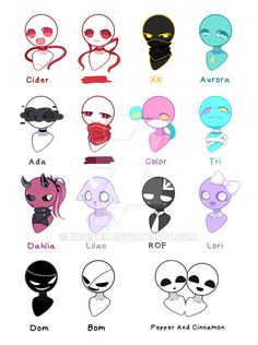 my ocs by XXCider on DeviantArt Dark Art Illustrations, Art Drawings Sketches Simple, Kawaii Drawings, Cute Drawings, Fantasy Character Design, Character Design Inspiration, Character Art, Art Style Challenge, Drawing Challenge