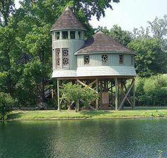 Turret tree house.