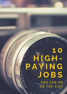 Have free time you don't know what to do with? Trying to develop or hone a new skill? You should consider getting a side job.