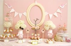 Inspiration: Feather Her Nest Baby Shower | Double the Fun Parties ®
