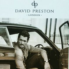 David Gandy for David Preston Shoes vía IG