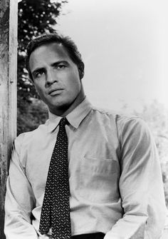 Marlon Brando in The Fugitive Kind, 1959.