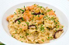"""AbruzzoIN…cucina. La ricetta iedeale per un Capodanno """"leggero"""": risotto con carciofi e gamberi"""