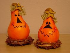 Hallowe'en Light Bulbs or for Fall decor