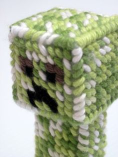 Minecraft Creeper by SweetRiffs on Etsy, $12.00