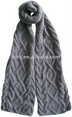 bufanda del hombre-Bufanda Punto-Identificación del producto: