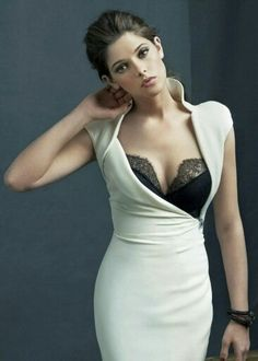 white dress - love the design.
