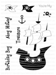 Ahoy Matey                   Clearly Besotted stamps             $4.00 lb