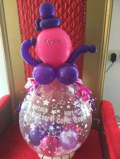 Balloon Decorations, Stuffing, Birthday, Globes, Birthdays, Dirt Bike Birthday, Cow, Balloon Centerpieces, Birth Day