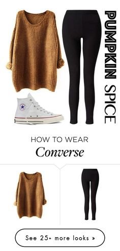 """Untitled #78"" by livianaelaine on Polyvore featuring Miss Selfridge and Converse"