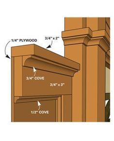 How to Install Wood Molding | The Family Handyman #woodworkingideas