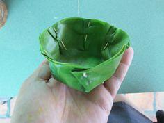 #ecoideas #diningideas - banana leaf bowls.
