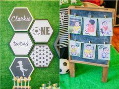 Clarkie's Soccer Themed Party – Sweet treats Soccer Theme Parties, Party Themes, Party Ideas, Football Themes, Sweet Treats, Kids Rugs, Birthday, Sweets, Birthdays
