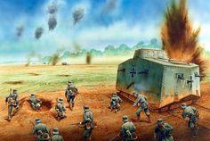 191804-24 Villers Bretonneux - Peter Dennis - Osprey