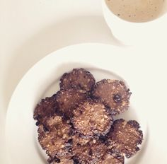 Peanutbutter cookies #coffee