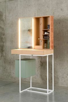 coiffeuse bjorg coiffeuse miliboo | dressing table | pinterest - Coiffeuse Meuble Design