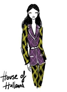 House of Holland London Womenswear S/S 2013 by Rei Nadal.