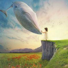Se as baleias voassem...