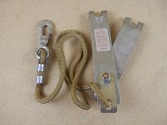 Vintage Rope Grab 2551 Safe-HI Rose Mfg Co Shock Absorber Lineman Climbing Gear #RoseMfgCo