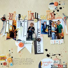 Happy Hallowe'en.  Elle's Studio: CHA booth layouts (This one's by Paige Evans).
