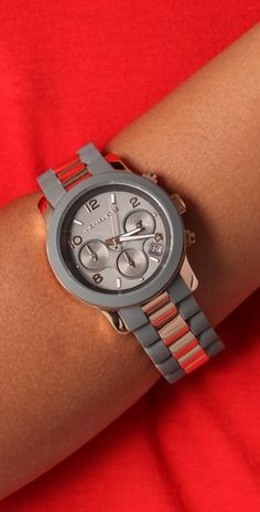 78de91de868 Michael Kors Runway Time Teller Watch