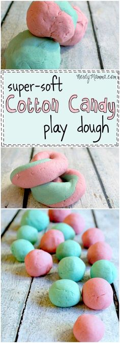 Great activity for a circus theme : cotton candy playdough! This is such an awesome and easy no-cook recipe for super-soft play dough that smells like cotton candy. And it's taste-safe, too! Circus Theme Crafts, Carnival Crafts, Preschool Circus Theme, Circus Party, Carnival Activities, Activities For Kids, Nursery Activities, Indoor Activities, Learning Activities