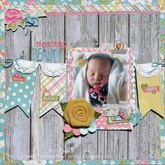 Layout: Sleeping Beauty *My Creative Scrapbook*