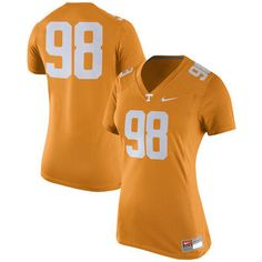 Nike Tennessee Volunteers Women's Tennessee Orange Game Replica Football Jersey