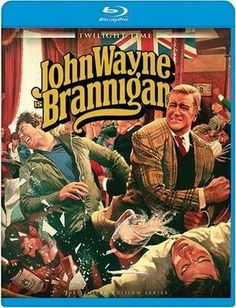 John Wayne's 1975 film Jim Brannigan is sent to London to bring back an American mobster who is being held for extradition but when he arrives he has been kidnapped which was set up by his lawyer. Brannigan in his American Irish way brings American law to the people of Scotland Yard in order to recapture this mobster with both a price tag on his head and a stuffy old London cop to contend with.