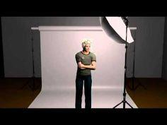 One Light Portrait Setup   Ed Verosky es un fotógrafo de NY que dirige el sitio de internet: AboutPhotography.com, y entre otras cosas, encontrarás en el videos tutoriales de iluminación algunos de ellos hechos con descriptivos diagramas en 3D.