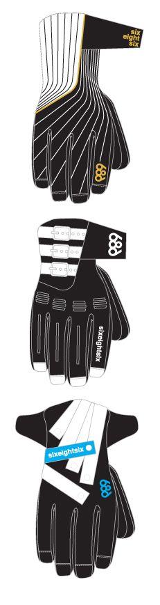 Winter Snowboard Gloves. 686. Winter 2009.