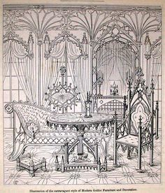 gothic revival furniture pic from http://special.lib.gla.acjbdesign.it