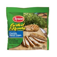 Tyson Chicken | Tyson Grilled And Ready Chicken Breast Strips Review, Recipe And ...