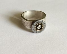 Bullet Casing Winchester 308 Ring by GinaTackettJewelry on Etsy
