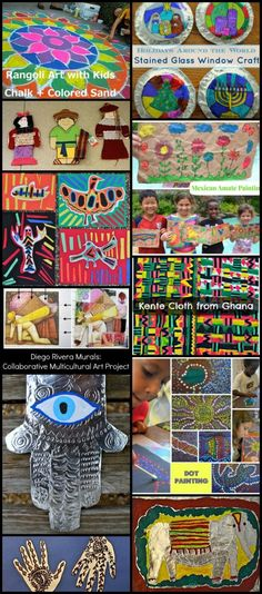 Multicultural Art Projects Kid World Citizen- Kid World Citizen