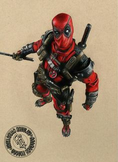 #Deadpool #Fan #Art. (Deadpool) By: Adbettley. (THE * 5 * STÅR * ÅWARD * OF * MAJOR ÅWESOMENESS!!!™) [THANK U 4 PINNING!!!<·><]