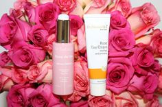 Floral, roses, pink, beauty stills, via Into The Gloss.